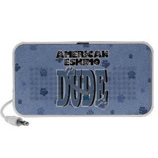 American Eskimo DUDE Portable Speaker