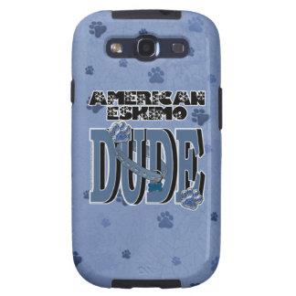 American Eskimo DUDE Samsung Galaxy S3 Cases