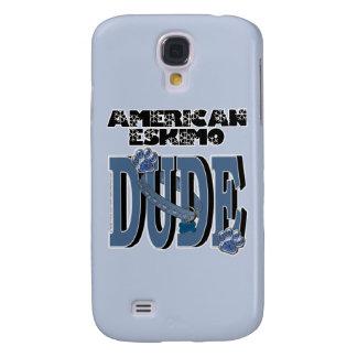 American Eskimo DUDE Samsung Galaxy S4 Case
