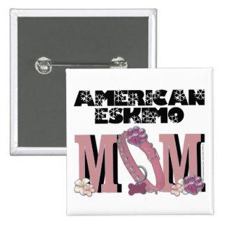 American Eskimo MOM Button