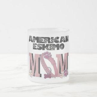 American Eskimo MOM Coffee Mugs