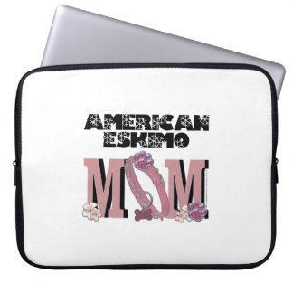 American Eskimo MOM Computer Sleeve