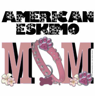 American Eskimo MOM Cut Outs