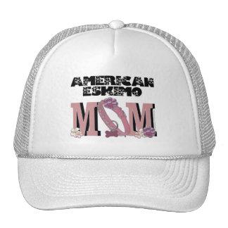 American Eskimo MOM Mesh Hats