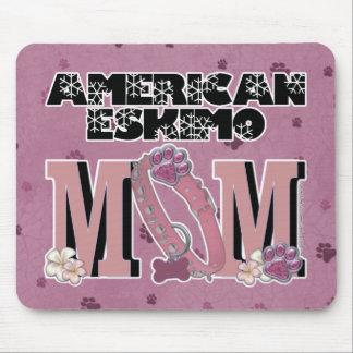 American Eskimo MOM Mouse Pad