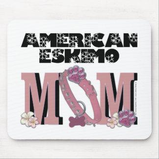American Eskimo MOM Mousemat