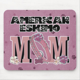 American Eskimo MOM Mousepads