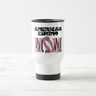 American Eskimo MOM Mug