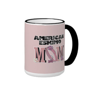 American Eskimo MOM Mugs