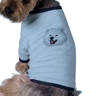 American Eskimo Portrait Dog T Shirt