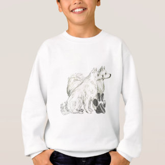 american eskimos and pawprints sweatshirt