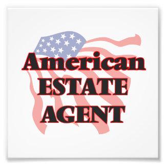 American Estate Agent Art Photo