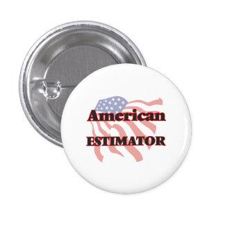 American Estimator 3 Cm Round Badge