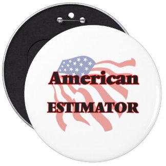 American Estimator 6 Cm Round Badge