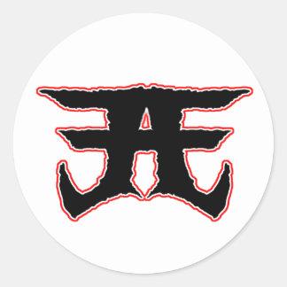 American Evil logo sticker