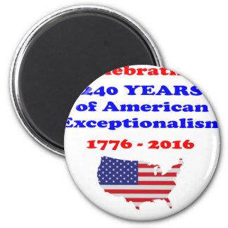 American Exceptionalism 6 Cm Round Magnet