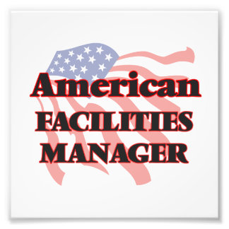 American Facilities Manager Photographic Print