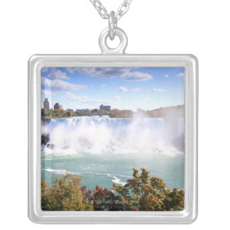 American Falls at Niagara Falls Silver Plated Necklace
