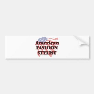 American Fashion Stylist Bumper Sticker