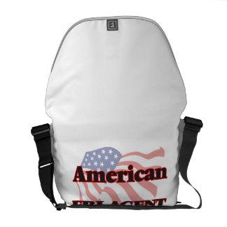 American Fbi Agent Messenger Bag