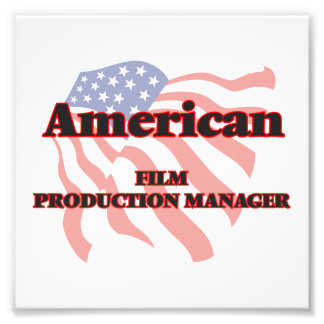 American Film Production Manager Photo Art