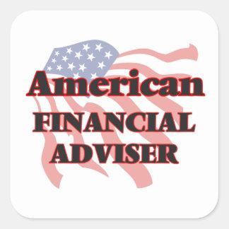 American Financial Adviser Square Sticker