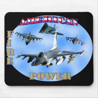 American Fire Power Mouse Pad