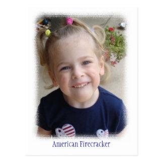American Firecracker Postcard