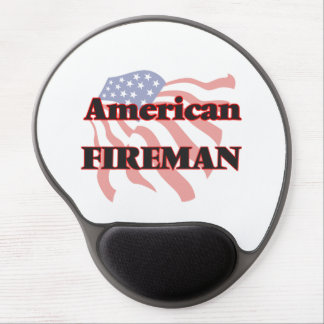 American Fireman Gel Mouse Pad