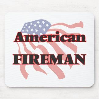 American Fireman Mouse Pad