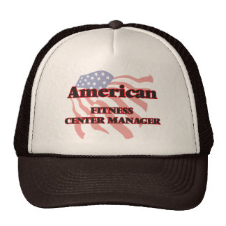 American Fitness Center Manager Cap