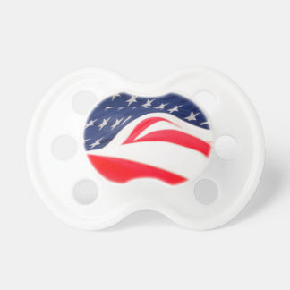 American Flag: 0-6 months Pacifier