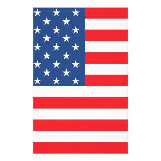 American Flag 14 Cm X 21.5 Cm Flyer
