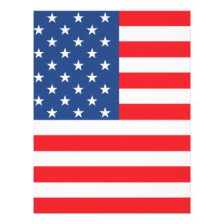 American Flag 21.5 Cm X 28 Cm Flyer