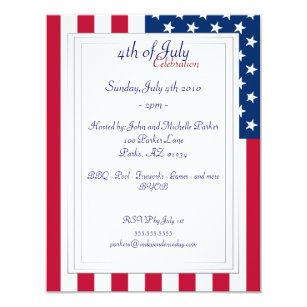 american flag invitations announcements zazzle uk