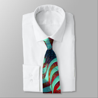 American Flag - 4th of July Tie