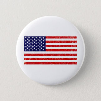 American Flag 6 Cm Round Badge