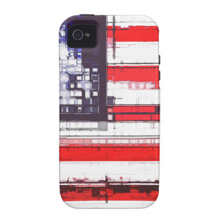 American Flag Abstract Case-Mate iPhone 4 Case
