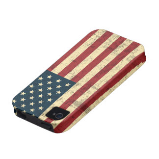 American Flag Aged Distressed iPhone 4/4S Case