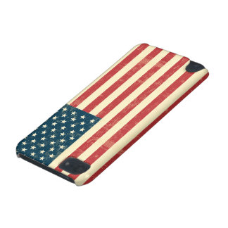 American Flag Aged Faded iPod Touch 5G Cases
