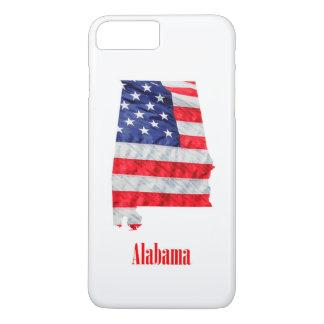 American Flag Alabama United States iPhone 8 Plus/7 Plus Case