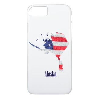 American Flag Alaska United States iPhone 8/7 Case