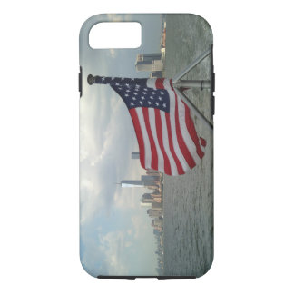 American Flag and Freedom Tower iPhone 7 tough cas iPhone 7 Case