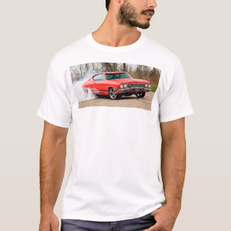 American flag and muscle car shirt