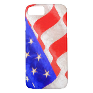 American Flag Apple iPhone 7, Barely There iPhone 7 Case