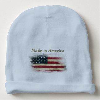 American Flag Baby Beanie