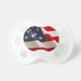 American Flag Baby Pacifier