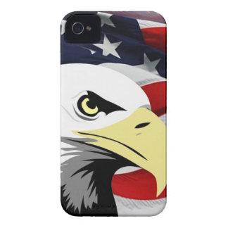 American Flag/Bald Eagle BlackBerry Bold Case