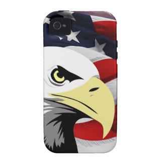 American Flag/Bald Eagle iPhone 4 Case