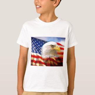American Flag Bald Eagle T-Shirt